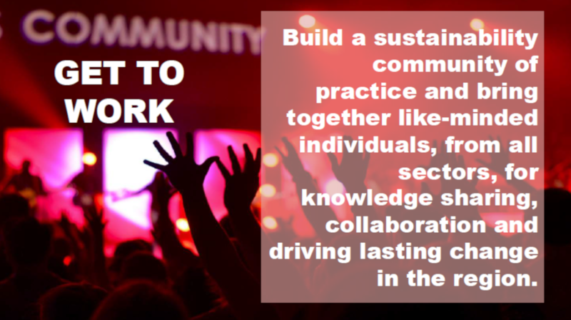 Our Sustainable Future: Get Inspired, Get Informed, Get to Work!