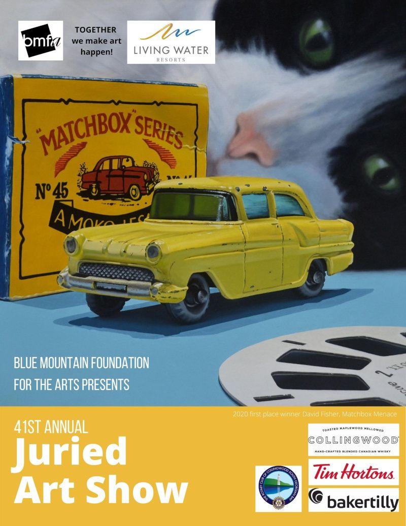 ARTS calendar – Featuring the Blue Mountain Foundation for the Arts (BMFA)
